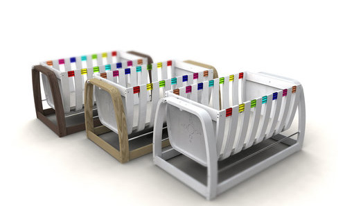 modern cribs from babycotpod funky nursery furniture