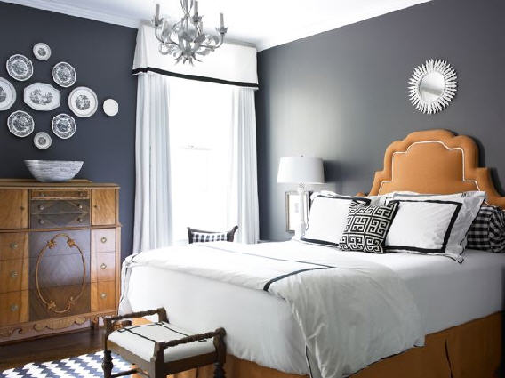 how to choose an accent wall color