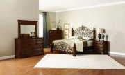 Deep Cherry Finish Classic Edgewood Bedroom By Coaster