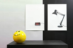 Called The Flat Life Series, The Clock And Light Consist Of 2D Images  Performing The Function Of ... Amazing Design