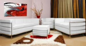 Living room furniture set.